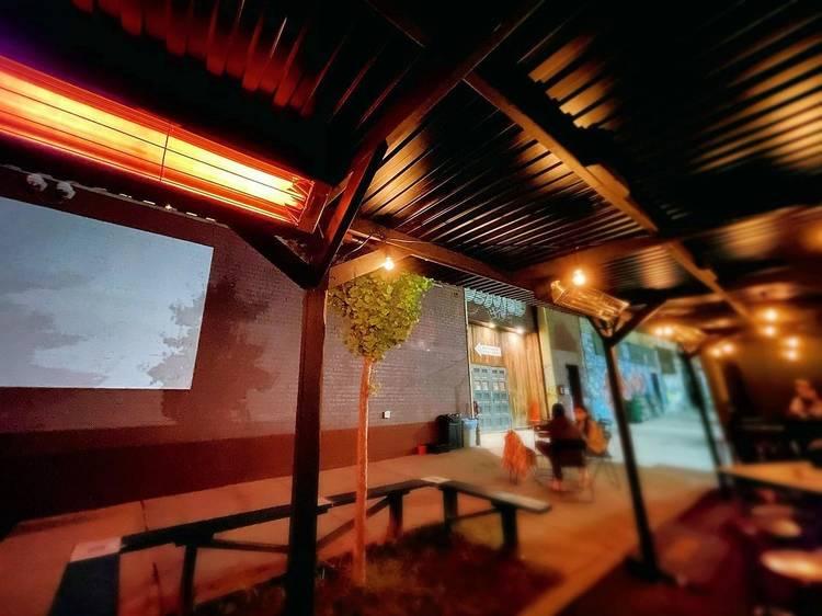 Sidewalk Cinema at Syndicated