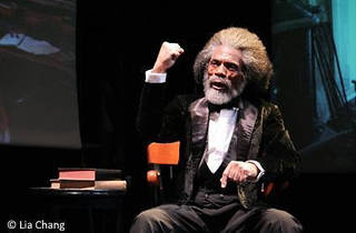 André De Shields is Frederick Douglass
