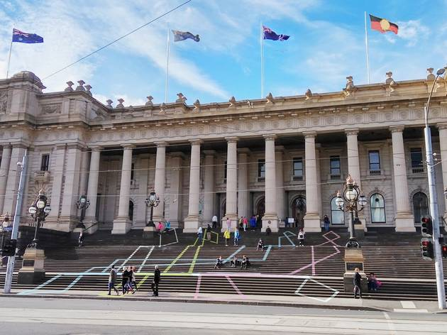 Melburnians invited to draw on Parliament House for a new art project