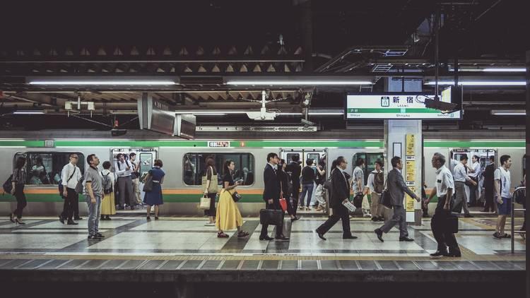 Shinjuku Station JR Yamanote
