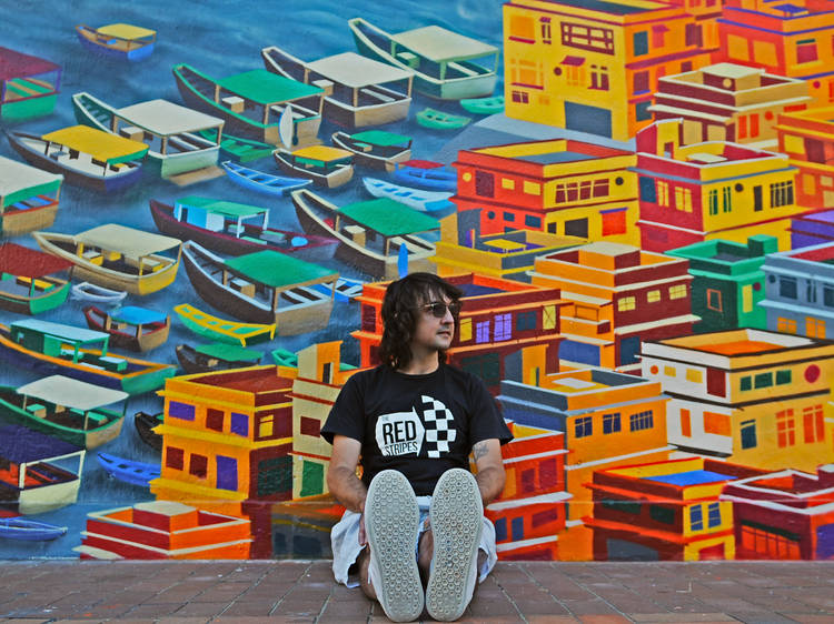 HK Profile: local street artist Alex Croft