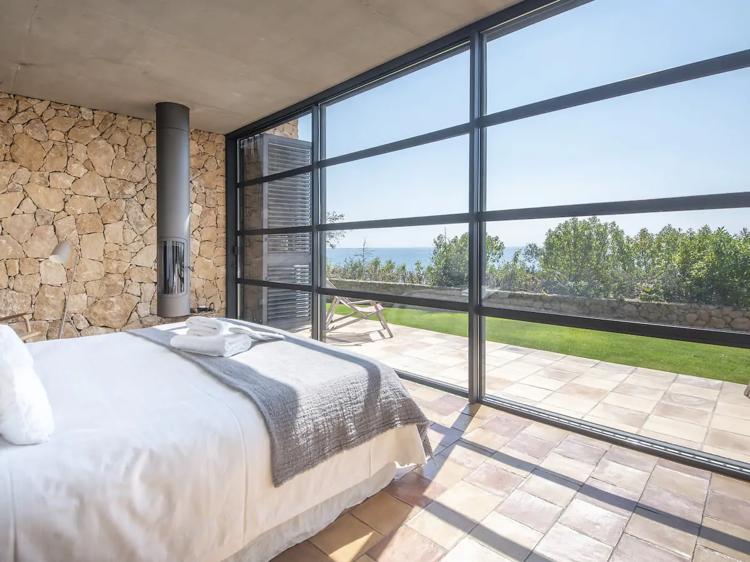 Villa con vistas panorámicas, en Tamarit