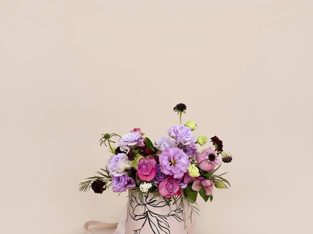Blooms and Blossoms bloom bucket
