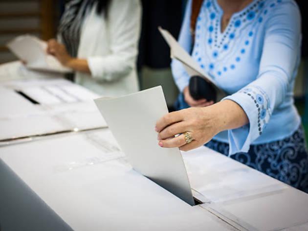 Exercir el dret a vot