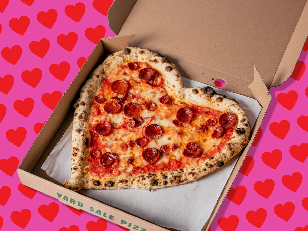 All the heart-shaped food you can order for Valentine's Day