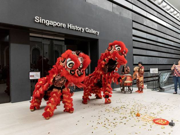 Lunar New Year Celebrations at the National Museum of Singapore
