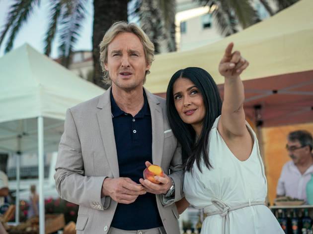 Bliss, la nueva película de Salma Hayek y Owen Wilson