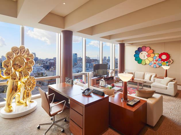 Grand Hyatt Takashi Murakami hotel room