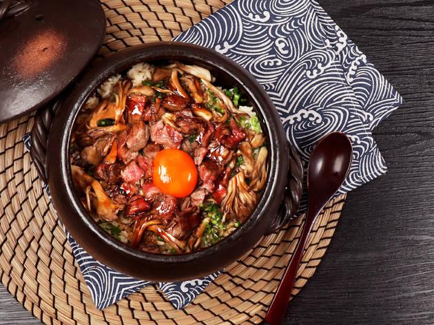 Izakaya by K Wagyu beef pot rice