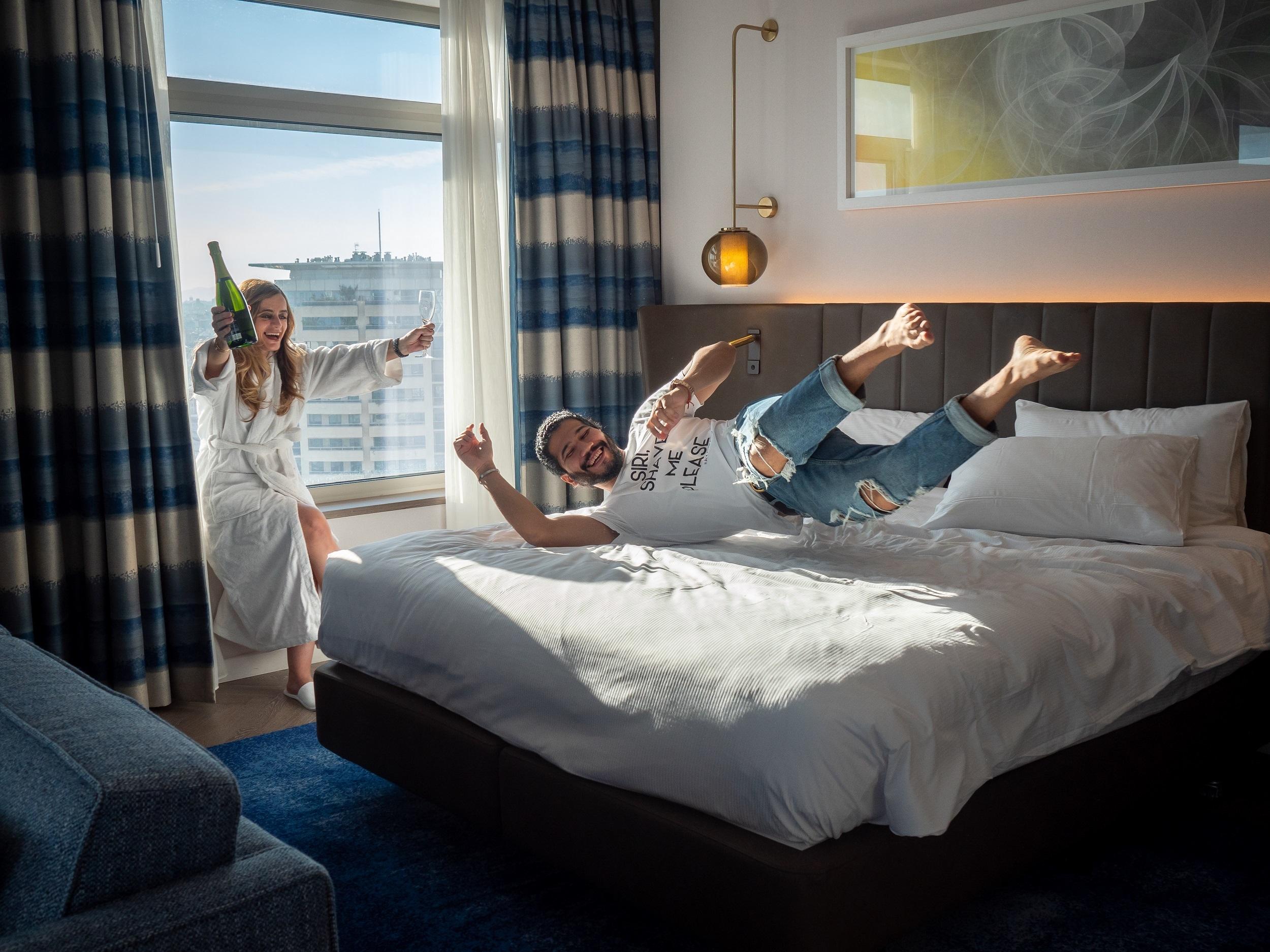 Hotel Hilton Diagonal Mar per Sant Valentí