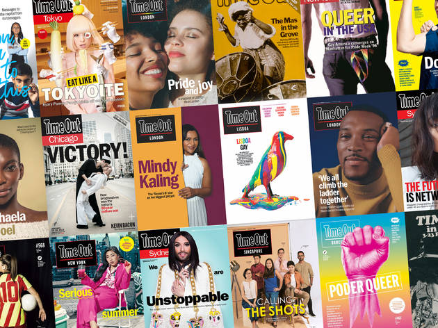 Diversity and inclusion Time Out covers