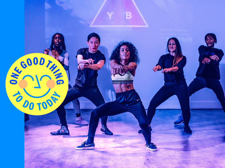 Get a sweet, sweet endorphin kick from a free At Your Beat dance class