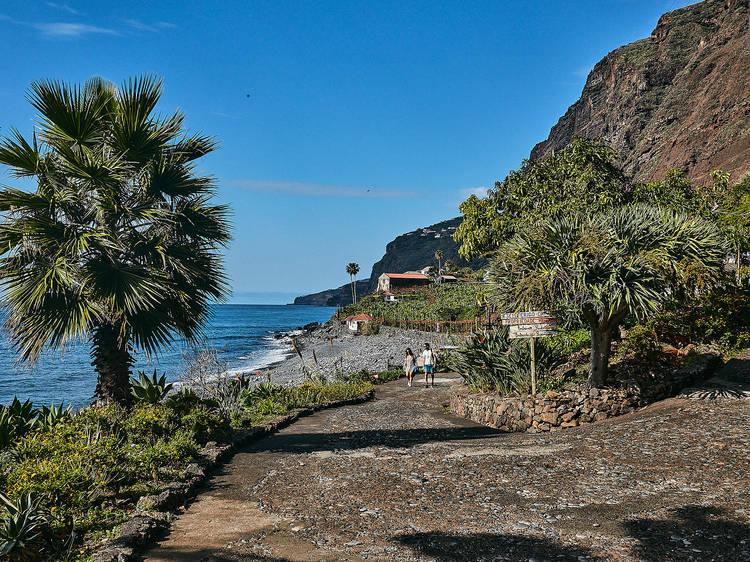 Visitar uma ilha dentro da ilha
