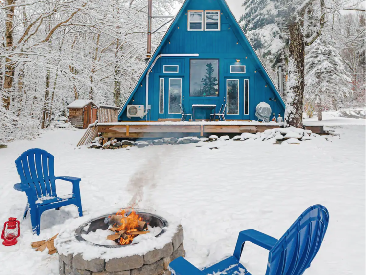 Nine Airbnbs with incredible snowy views