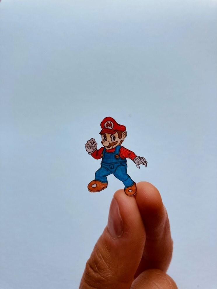 Ilustración miniatura Mario Bros