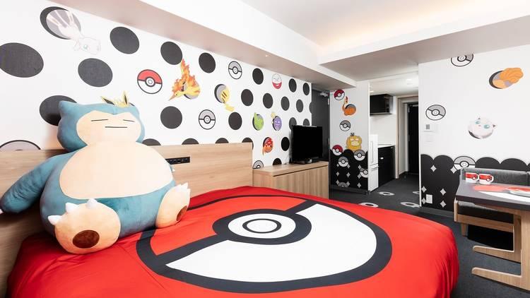 Mimaru hotel Pokémon room