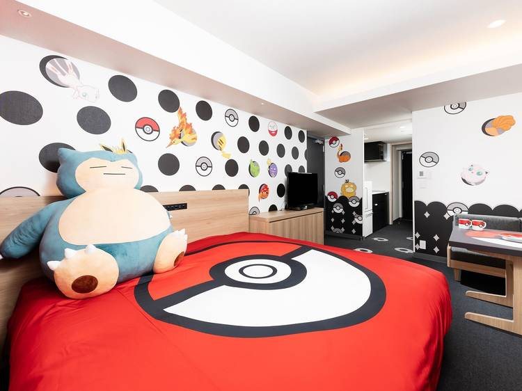 Pokémon room at Mimaru hotel