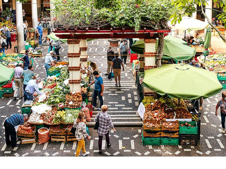 Comprar flores no Mercado dos Lavradores