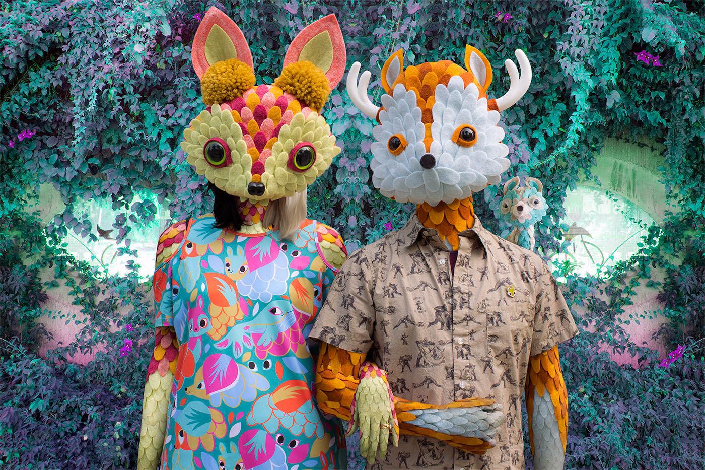 Foto Horribles Adorables de l'exposició Symbiosis