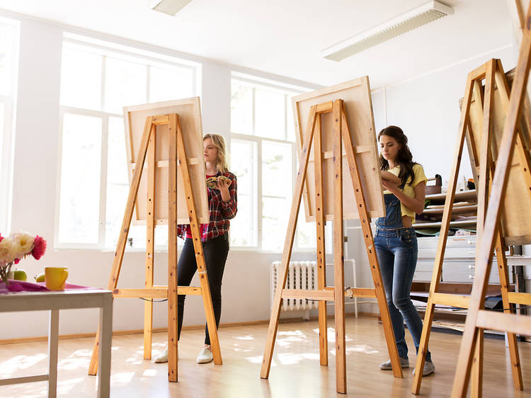 Attend a virtual life-drawing class