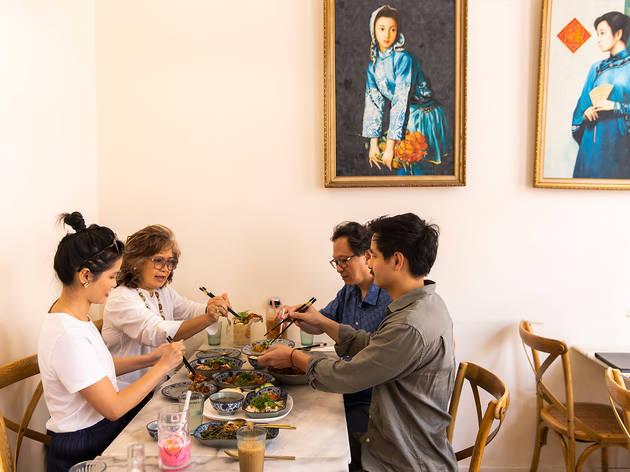Ho Jiak, family, interior