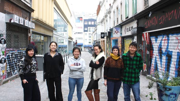 © Le Banquet of the OX (aka BOX)- De gauche à droite : Emily Chia, Charlotte Mosely, Yijun Kwok, Henrike Theda Klug, Amandine Sepulcre Huang, Hanzhou Piao.