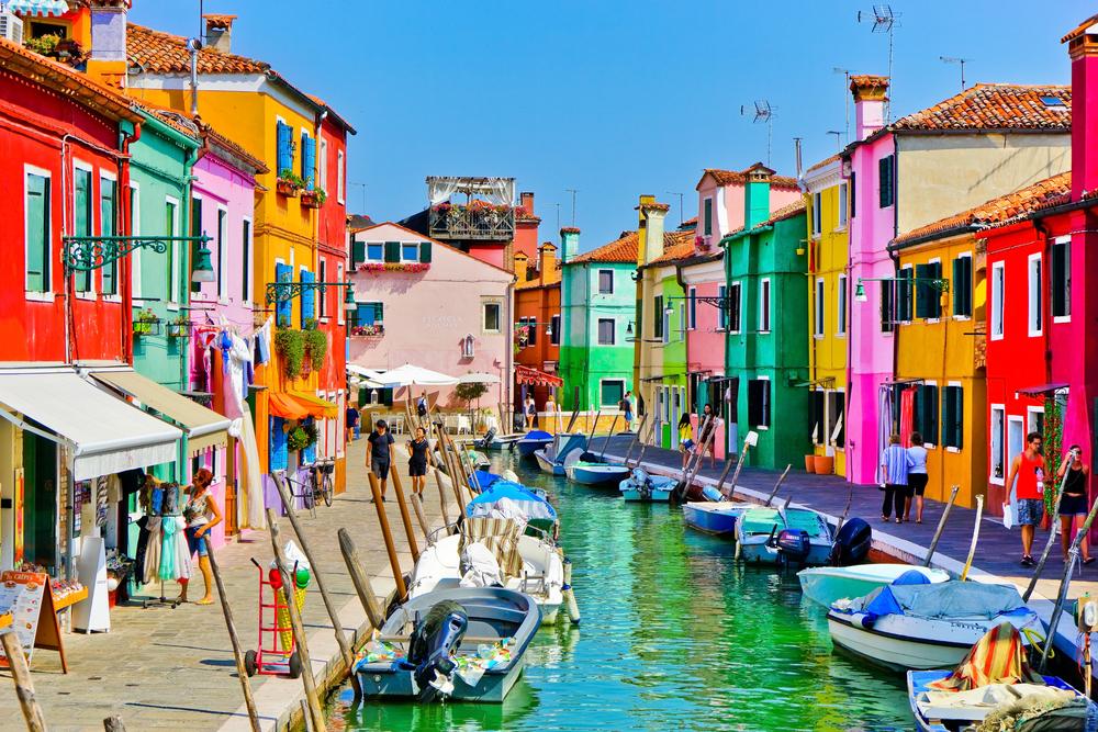Burano in Venice