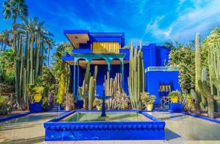 Le Jardin Majorelle in Marrakech
