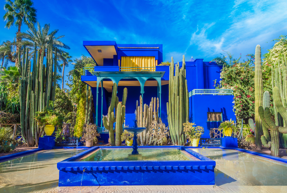 Le Jardin Majorelle in Marrakech