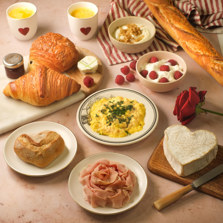 5 brunchs sur-mesure pour célébrer la Saint-Valentin en amoureux