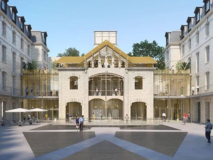 La caserne Château-Landon