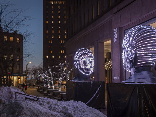 Downtown Alliance Ops / Eco Dev Art Installation and Misc. Winter Shoot - February 8, 2021