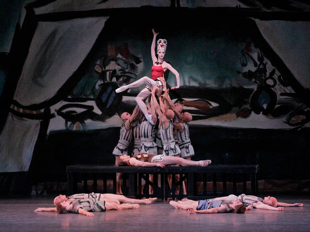 The prodigal son george Balanchine nyc ballet