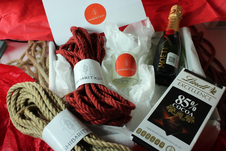 Kits para explorar el shibari este San Valentín