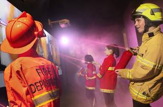 DreamCity firefighters (Photograph: Supplied)