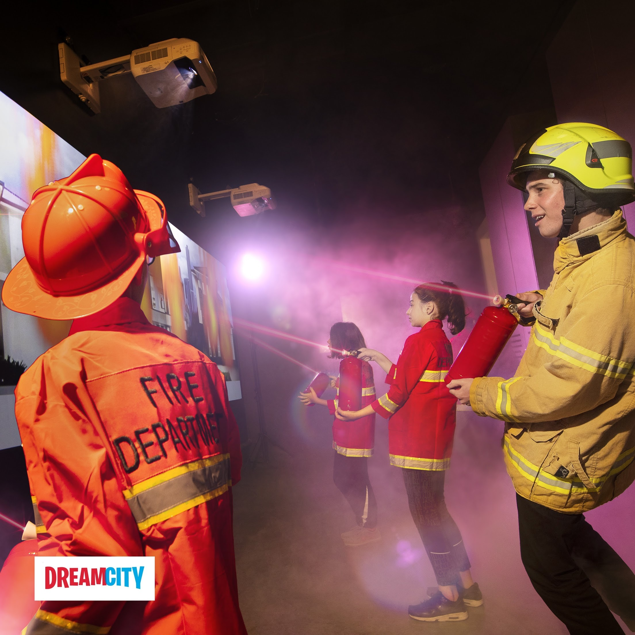 DreamCity firefighters