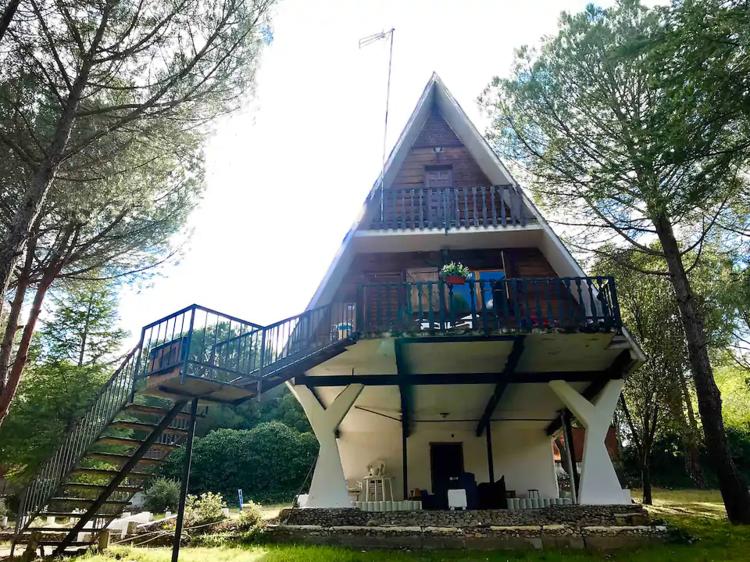 Cabaña alpina en Uceda, Guadalajara