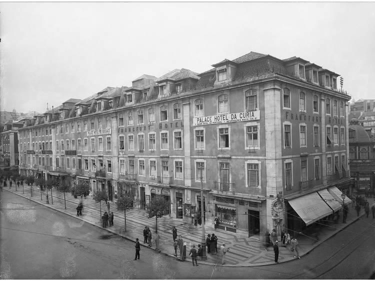 O Pátio das Antigas: O respeitável Hotel do Rossio