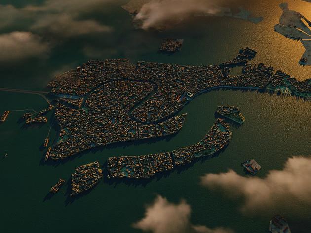 Veneza vista de cima