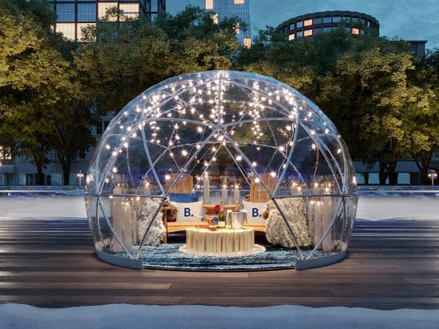 Bryant Park bubble