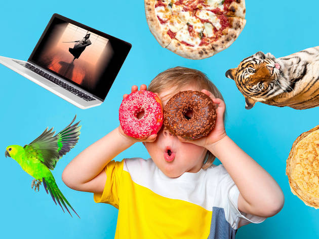 Half-activities for kids from streaming to pizza making