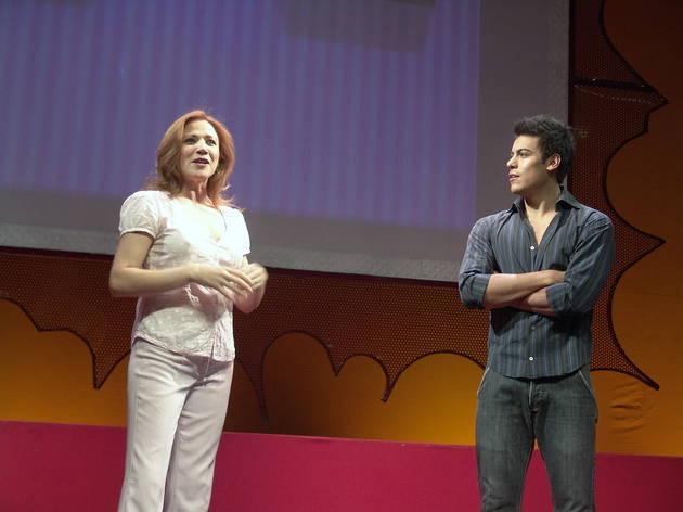 Orgasmos, la comedia con Laura Luz y Carlos Rivera