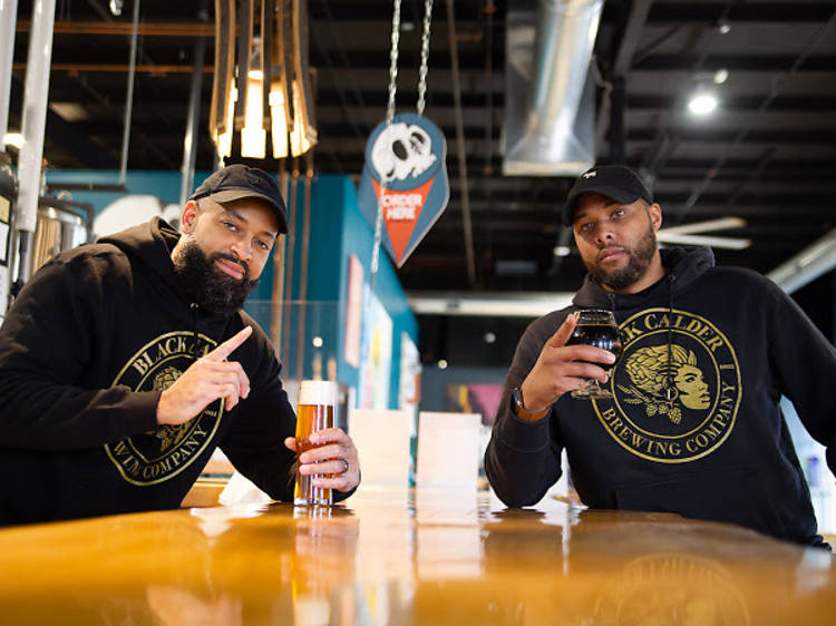 Terry Rostic and Jamaal Ewing, Black Calder Brewing Company