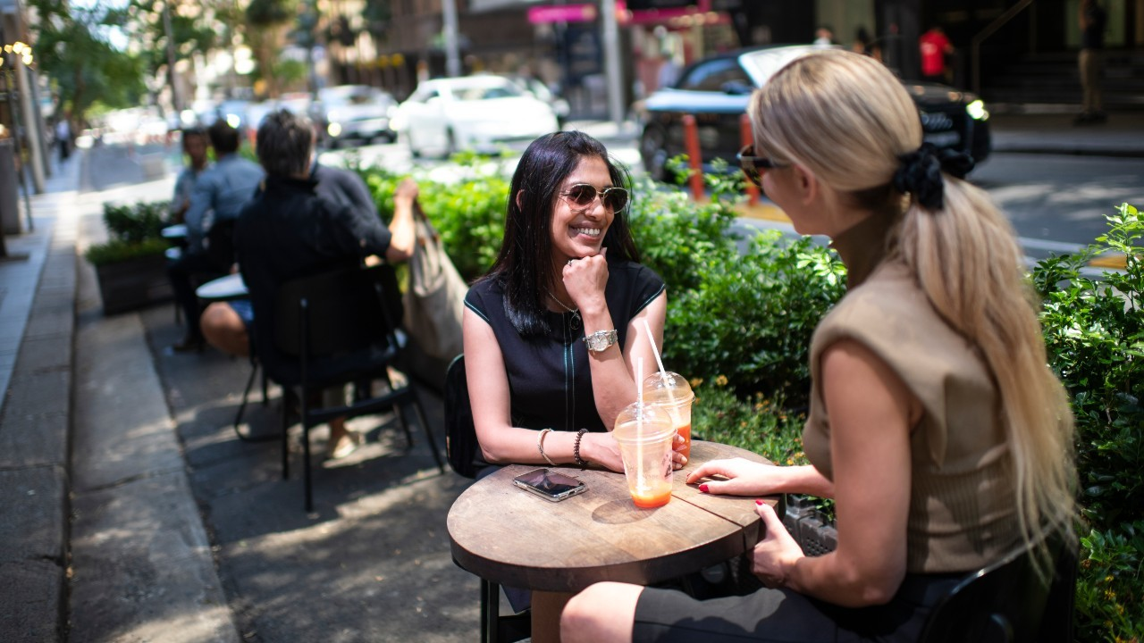 The NSW government is offering thousands of grants to expand outdoor dining areas