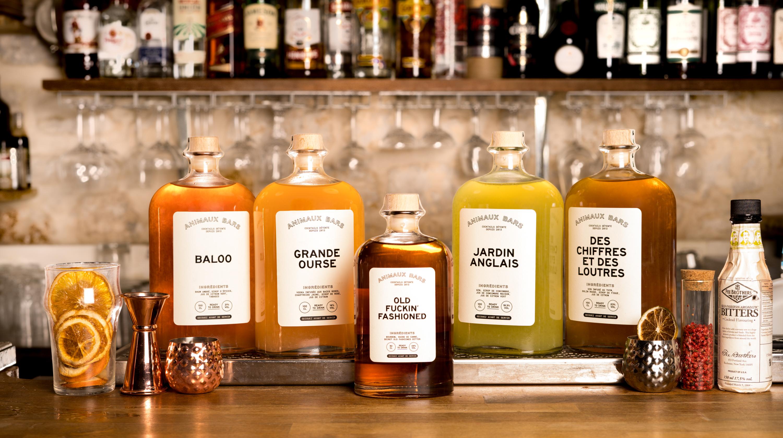 Animaux Bars débarque en livraison : des super cocktails à prix riquiqui