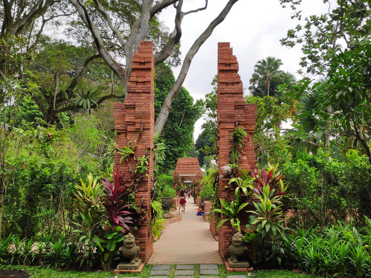 The most beautiful gardens in Singapore