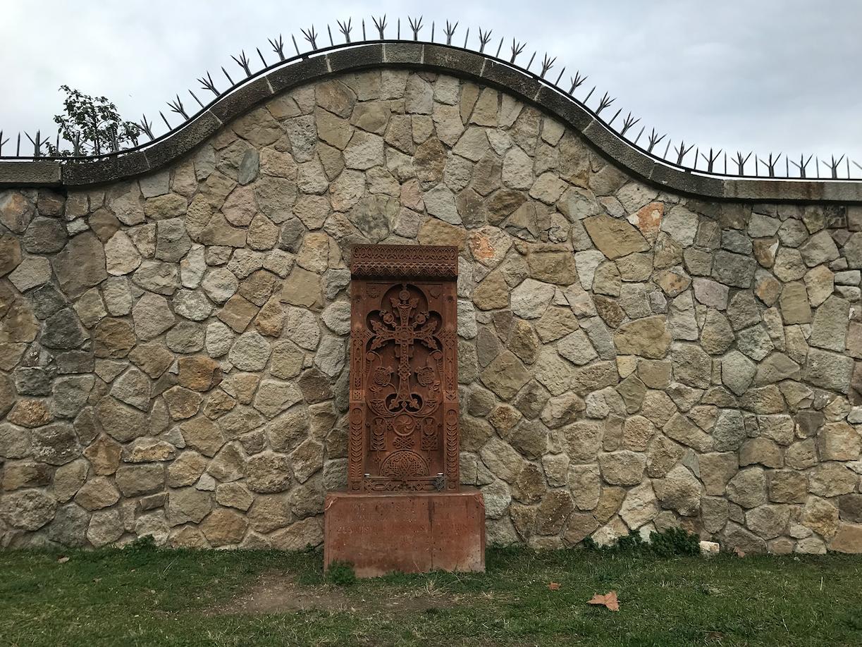 Altar armeni a Montjuïc