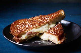 Maker and Monger cheese toastie
