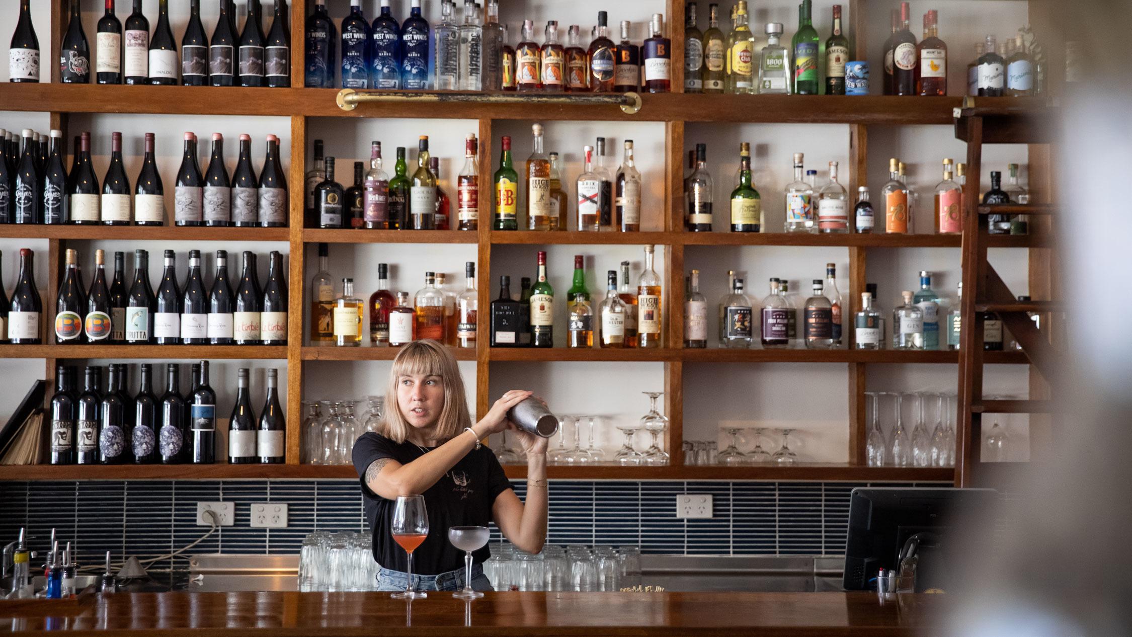 The Sunshine Inn, cocktail, bar