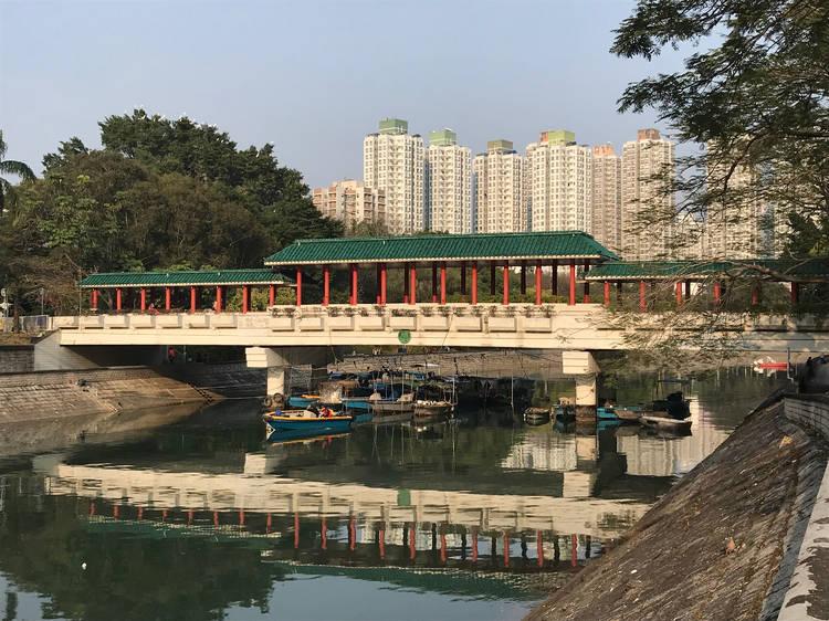 大埔廣福橋:第四大鷺鳥林